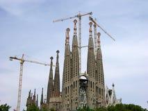 barcelona familia sagrada Royaltyfri Fotografi