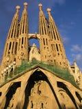 barcelona familia Sagrada Obrazy Royalty Free