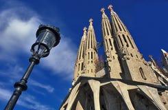 barcelona familia Sagrada Zdjęcie Royalty Free