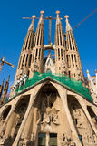 barcelona familia Sagrada Spain Obrazy Stock