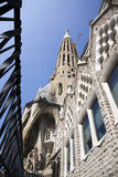barcelona familia Sagrada Spain Zdjęcia Royalty Free