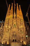 barcelona familia Sagrada Spain Obraz Stock