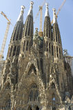 barcelona familia Sagrada Spain Obraz Royalty Free