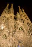 barcelona familiala sagrada Royaltyfri Fotografi