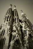 barcelona familiala sagrada Royaltyfria Foton