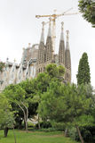 barcelona familiala sagrada Arkivfoton