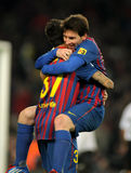 barcelona fc Leo messi obrazy royalty free