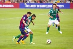 barcelona fc Leo messi Zdjęcie Stock