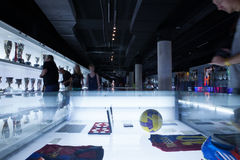 Barcelona FC Nou Camp Museum Royalty Free Stock Images