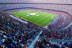 barcelona fc stadium fotografia stock