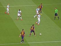 Barcelona FC V Deportivo Stockfotos