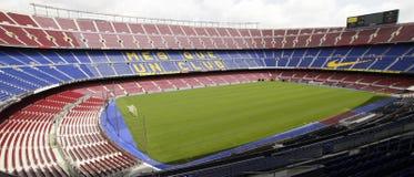 Barcelona FCB Stadium - Panorama Stock Photo