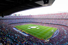 barcelona fcstadion Royaltyfri Foto