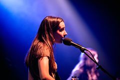 Mourn band performs at Apolo venue Stock Image