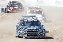 Barcelona FIA Rallycross Światowy mistrzostwo Obraz Royalty Free