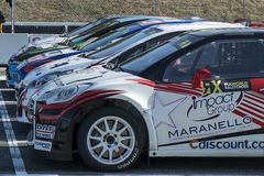 Barcelona FIA World Rallycross Championship Foto de Stock Royalty Free