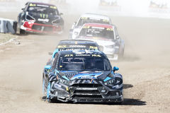 Barcelona FIA World Rallycross Championship Royalty Free Stock Image