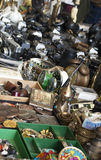 Barcelona flea market Royalty Free Stock Images
