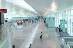 Barcelona flygplats royaltyfria foton