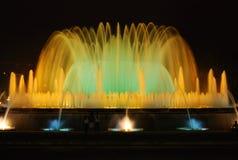 barcelona fontanna zdjęcia stock