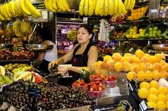 Barcelona -  Food Market - Spain. Royalty Free Stock Photos