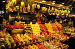 Barcelona -  Food Market - Spain. Stock Photo