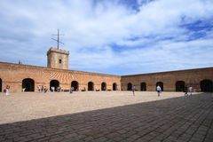Barcelona fortress Stock Photo