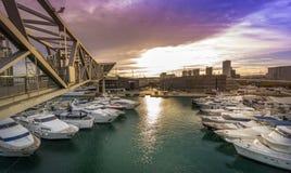 barcelona forum port Zdjęcie Stock