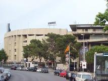 Barcelona fotbollstadion royaltyfri foto
