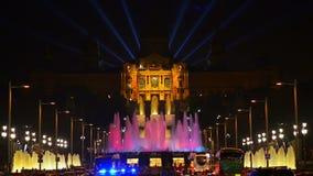 barcelona fountain magic