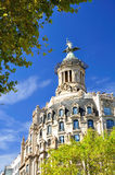 Barcelona fragment. Royalty Free Stock Photography