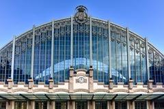 Barcelona Franca railway station Royalty Free Stock Photos
