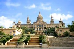 barcelona galleri Arkivfoto