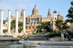 Barcelona gallery Royalty Free Stock Photography