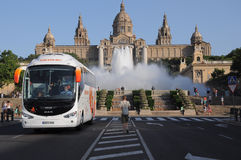 Barcelona gallery Royalty Free Stock Images