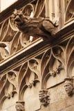 barcelona gargoyle Arkivfoto