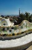 barcelona gaudíego park zdjęcia royalty free