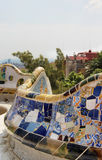 Barcelona Gaudi buildings in details Royalty Free Stock Photography