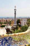 Barcelona Gaudi buildings in details Stock Photo