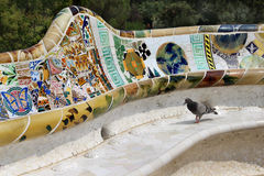 Barcelona Gaudi buildings in details Royalty Free Stock Photos