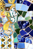 Barcelona Gaudi buildings in details Royalty Free Stock Photo