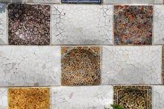 Barcelona Gaudi buildings in details Royalty Free Stock Images
