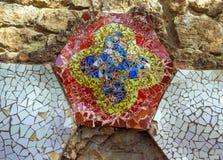Barcelona Gaudi ornate Stock Photography