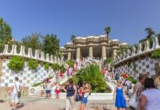 Barcelona Gaudi Royalty Free Stock Photos