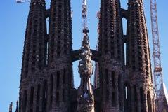 Barcelona gaudi. Barcelona Spain Gaudi La Sagrada familia Stock Images