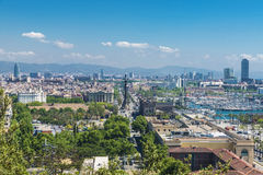 Barcelona generic view Royalty Free Stock Photos