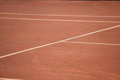 Barcelona gliniany tenisowy sąd Obrazy Royalty Free