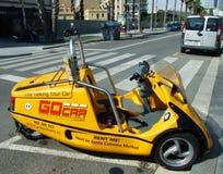 Barcelona Go Car. Go car is a talking car renting in Barcelona, Spain Stock Photos