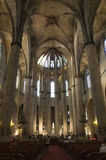 Barcelona - gothic church Santa Maria del mar Stock Images