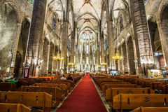 Barcelona - gothic church Santa Maria del mar Royalty Free Stock Images